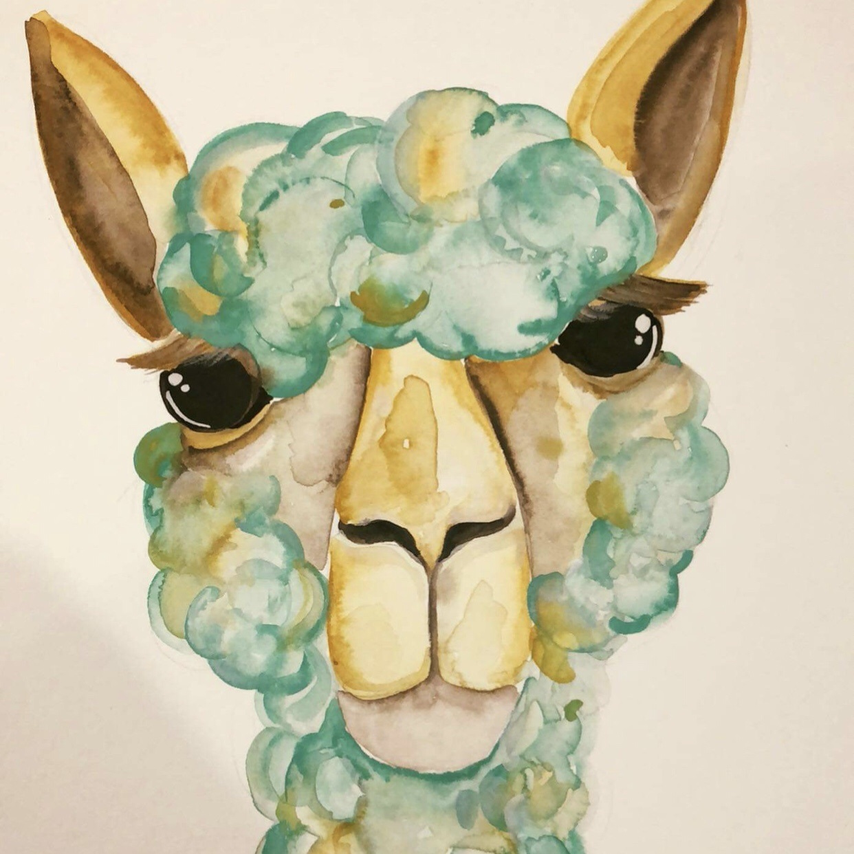 Watercolour Painting - Pacca Painting