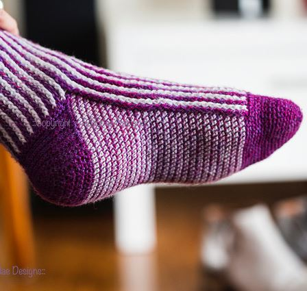 Creating Crochet Socks  - From the Toe Up